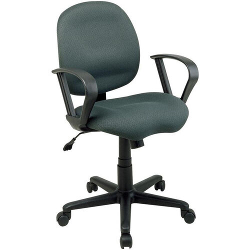 Our Work Smart Sculptured Task Chair with Contemporary Loop Arms and Casters is on sale now.