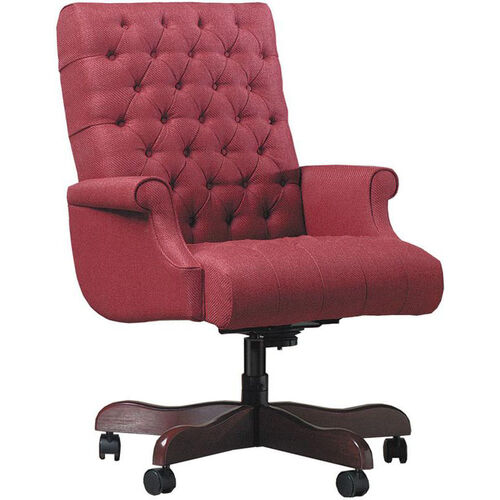 Our Quick Ship Scoop Management Swivel Chair with Fully Upholstered Arms is on sale now.