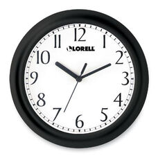 Lorell Round Profile Wall Clock - 9