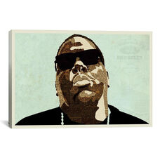 Biggie by Kyle Mosher Gallery Wrapped Canvas Artwork