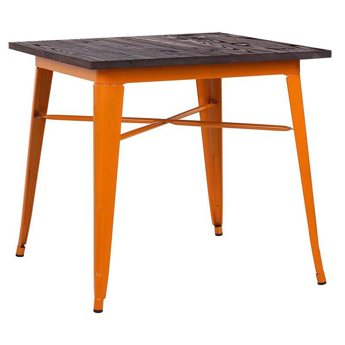 Dreux Orange Steel Bar Table Ls 9120 Oraw