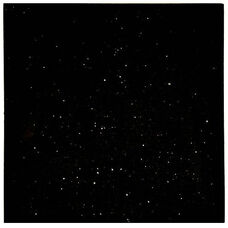 Natural Granite Square Outdoor Black Galaxy Tabletop - 30
