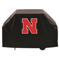 University of Nebraska Logo Black Vinyl 60