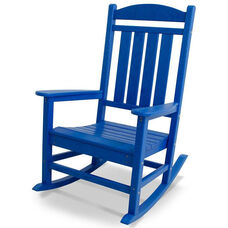 POLYWOOD® Presidential Rocker - Vibrant Pacific Blue