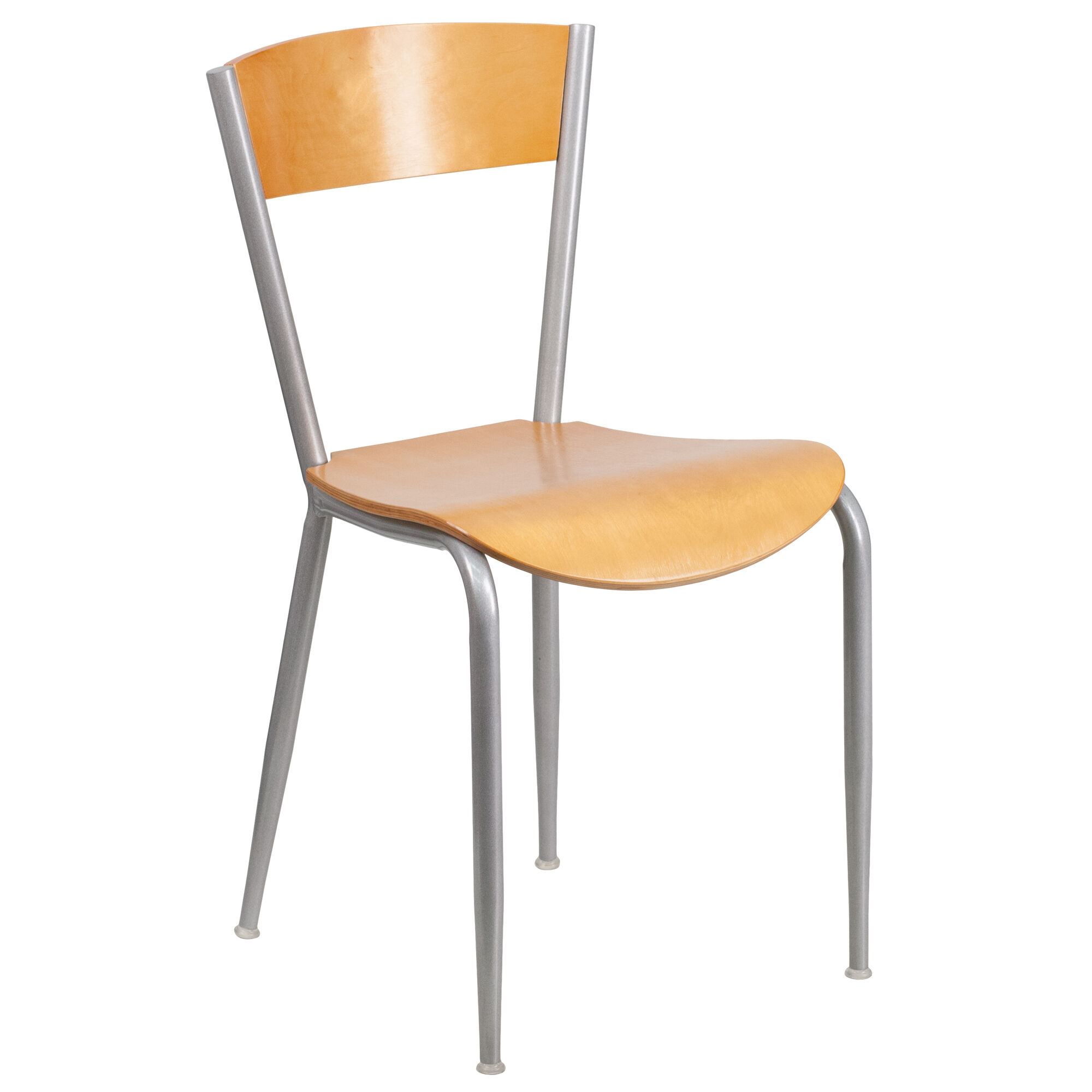 Silver open chair nat seat bfdh tdr