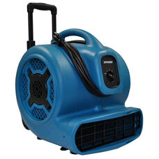 P-830H Powerful 3 Speed Professional Air Mover with Telescopic Handle and Wheels with 1 HP