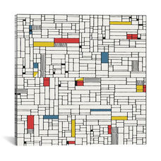 Computer Grid by Hemingway Design Gallery Wrapped Canvas Artwork