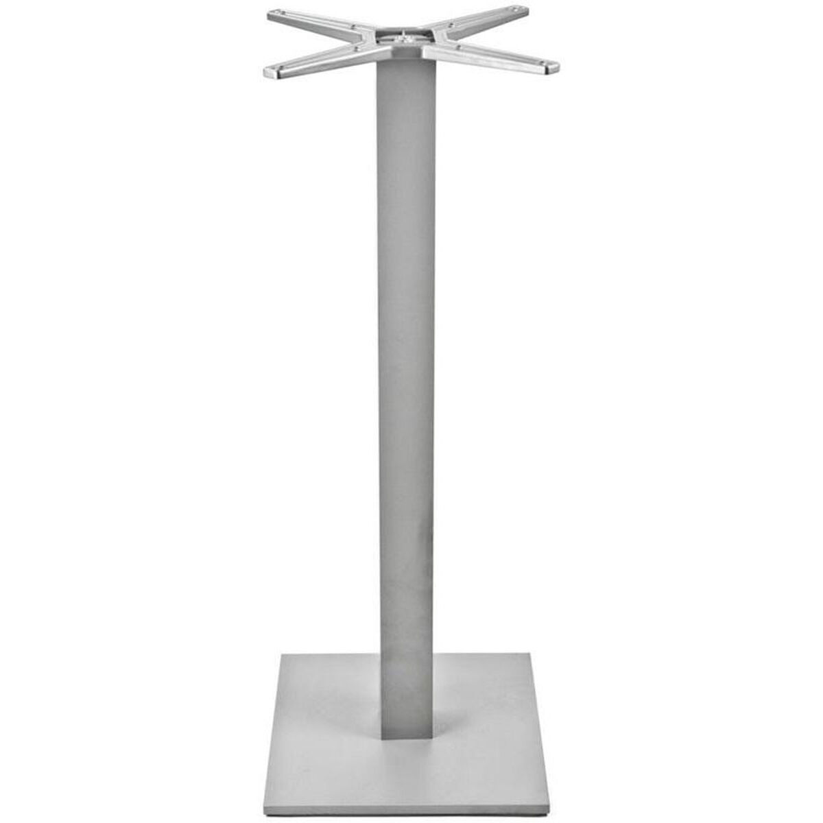 Square Weighted Bar Table Base Al 2500 18x18x3 Bh Silver