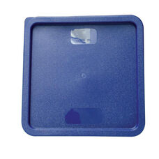 Plastic Square Lid in Blue