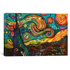 Starry Night by Dean Russo Gallery Wrapped Canvas Artwork