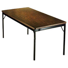 Customizable Classic Fixed Height Folding Training Table - 30''W x 72''D x 30''H