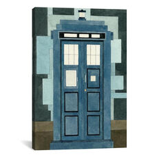 Tardis by Adam Lister Gallery Wrapped Canvas Artwork