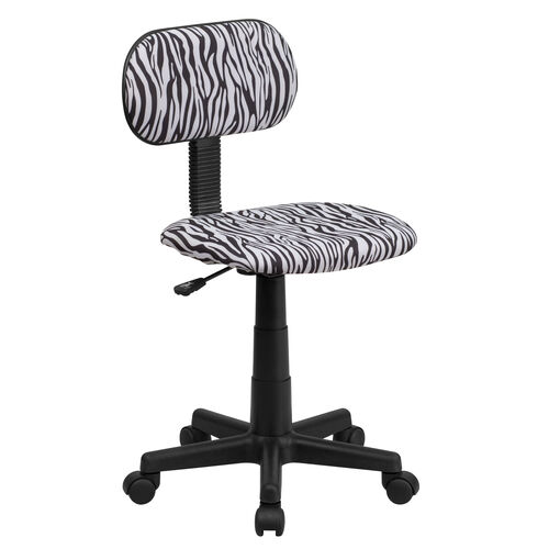 Our Zebra Print Swivel Task Office Chair is on sale now.