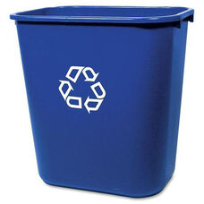 Rubbermaid Commercial Products Deskside Recycling Container - 7