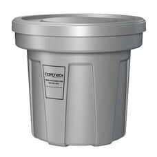 22 Gallon Cobra Flame Retardant Trash Can - Gray