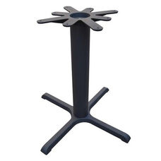 4 Prong Cast Iron Dining Height Table Base with 30