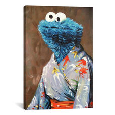 Kimono Monster by Hillary White Gallery Wrapped Canvas Artwork - 18