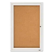Quartet Enclosed Outdoor Bulletin Board - 24