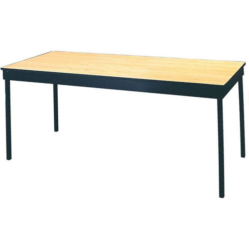 Deluxe Series Rectangular Conference Table with Vinyl Flush Edge and Laminate Top - 30