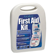 First Aid Travel Kit - 56 Pieces