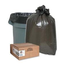 Genuine Joe Heavy -Duty Trash Bags - 1.5 Mil - 20 -30 Gallon - 100 per Box - Black