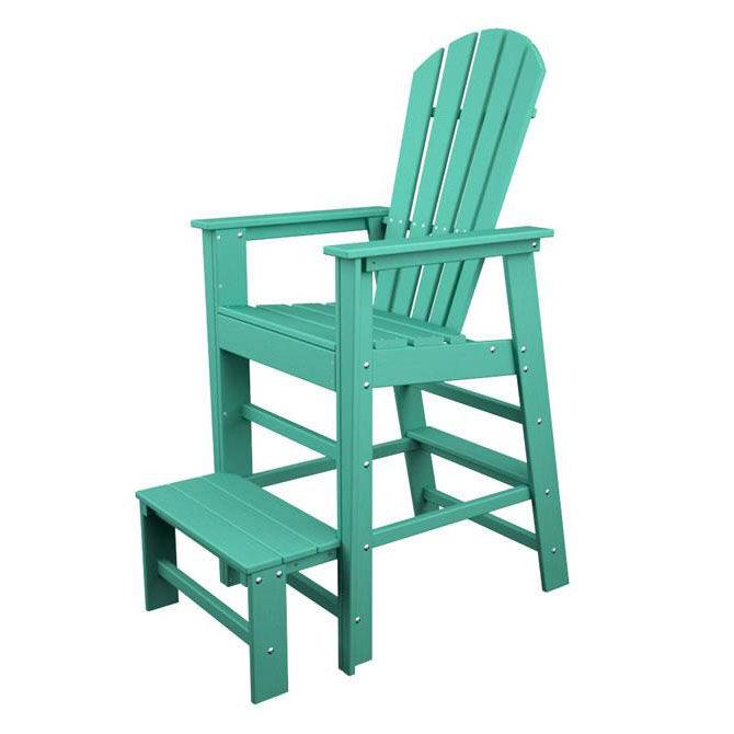 ... Our POLYWOODu0026reg; South Beach Collection LifeGuard Chair   Vibrant  Aruba Is On Sale ...