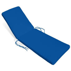 Sunrise Chaise Lounge Cushion - Pacific Blue