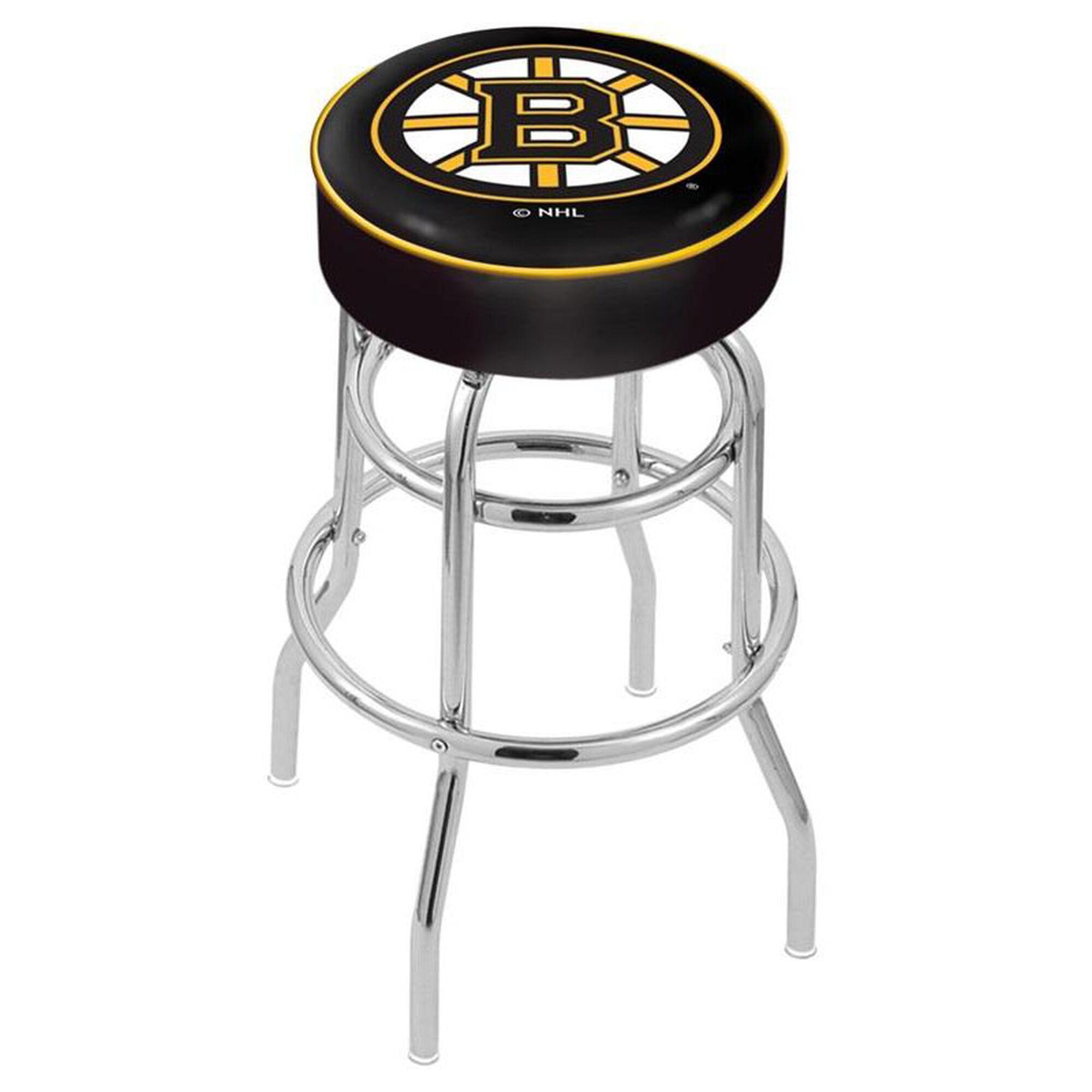 The Holland Bar Stool Co Boston Bruins 25 Chrome Finish