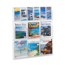 Safco Magazine/Pamphlet Display -6 Pckt. each -30