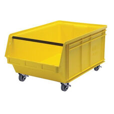 Magnum Mobile Stack Bins - Large - Yellow
