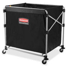 Rubbermaid Commercial Products 8-Bushel Collapsible X-Cart - 24.1