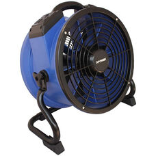 X-35AR Professional High Temperature Sealed Motor Industrial Axial Fan with Built-in Power Outlets and 1/4 HP