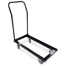 41''W x 18''D Series 5 Chair Dolly with Casters - Black