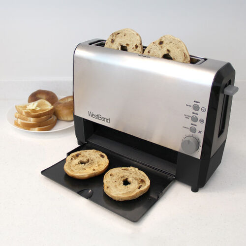 Our West Bend 77222 Quikserve Toaster, Stainless Steel is on sale now.