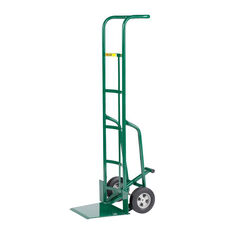 Industrial Strength Shovel Nose Hand Truck with Foot Kick - 60