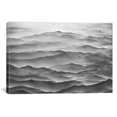 Ocean Mountains by Ben Heine Gallery Wrapped Canvas Artwork