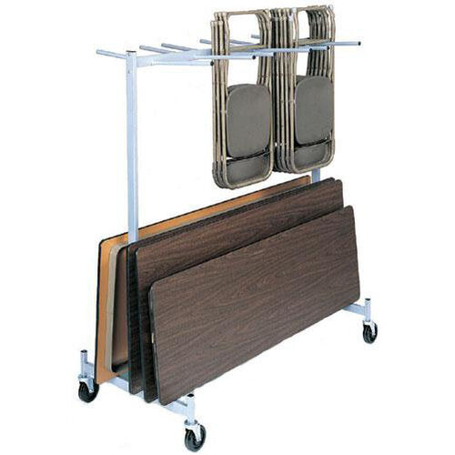 Our Full Size Hanging Folded Chair and Table Storage Truck - 74