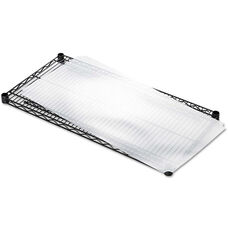 Alera® Shelf Liners For Wire Shelving - Clear Plastic - 4/Pack