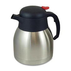 Genuine Joe Everyday Vacuum Carafe - 1.0L. - Stainless Steel