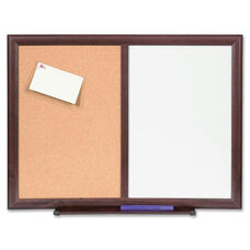 Lorell Dry -Erase Bulletin Board Combo - 18