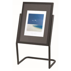 Menu and Poster Holder - Black Base and Frame