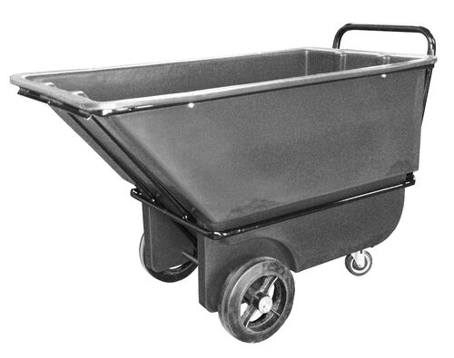 "Our Bayhead 1/3 Cubic Yard Heavy Duty Tilt Truck 1200lb Capacity - 4"" casters, Gray is on sale now."