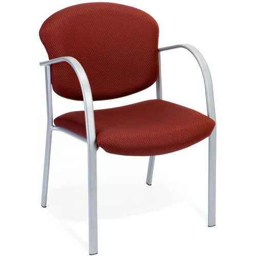 Our Danbelle Fabric Guest and Reception Chair - Burgundy is on sale now.