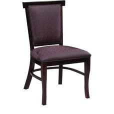 677 Side Chair with X Back and Upholstered Seat - Grade 1