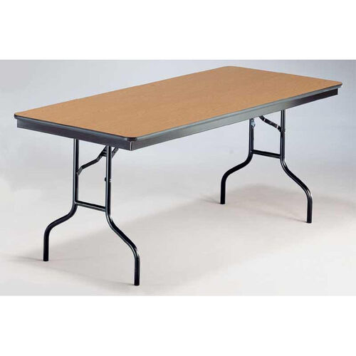 EF Series Long Rectangular Plywood Core Folding Table - 30