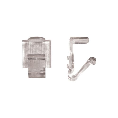 """Our Polycarbonate """"TV"""" Skirting Clip for 5/8"""" Edge Tables - 100 Per Pack is on sale now."""