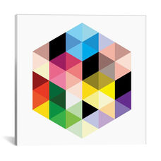 Modern Art- Cuboids lll by 5by5collective Gallery Wrapped Canvas Artwork