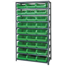 Magnum Shelving Unit with 27 Bins - Green