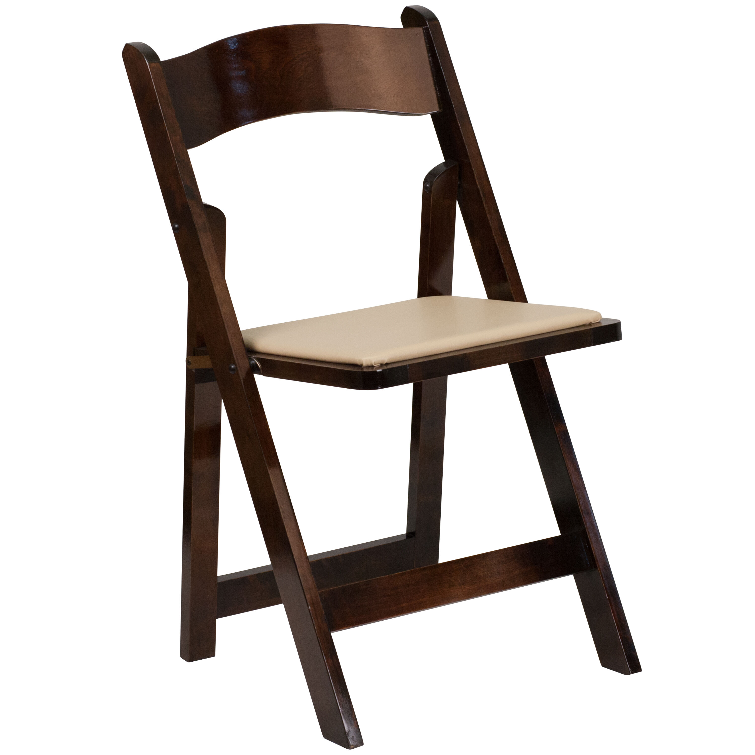 Our HERCULES Series Fruitwood Wood Folding Chair with Vinyl Padded Seat is on sale now.  sc 1 st  RestaurantFurniture4Less & Fruitwood Folding Chair XF-2903-FRUIT-WOOD-GG ...