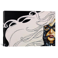 Black Cat by Scott Rohlfs Gallery Wrapped Canvas Artwork - 40